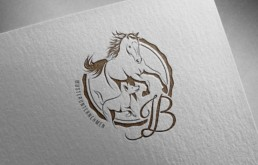 True Creative Agency - Dog Horse Logo-Design
