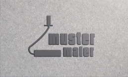 True Creative Agency - Dog Maler Logo-Design