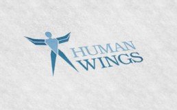True Creative Agency - Human Wings Logo-Design